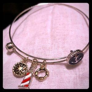 Jewelry - 5 for $20, Nautical Charm Bracelet